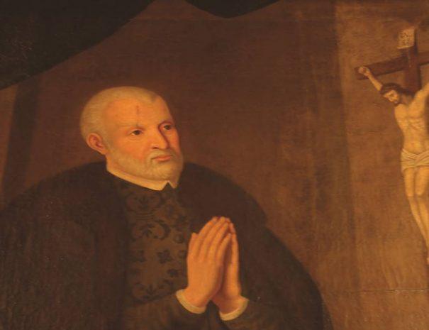 Konstantin Korniakt képe a Korniakt-palotában