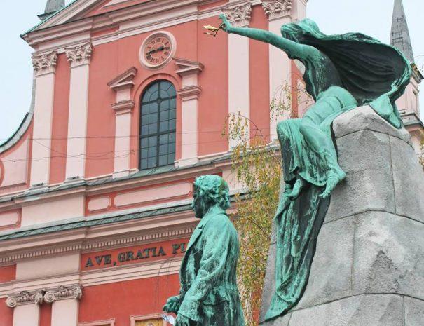 Angyali Üdvözlet temploma, Ljubljana