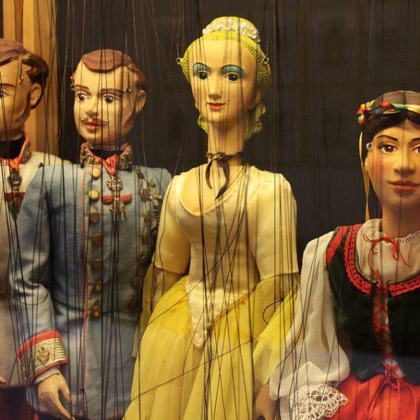 Kiállítás a Marionettszínházban, Schönbrunn