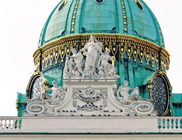 A Hofburg bejárata