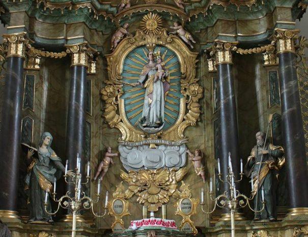 Gyergyószentmiklósi katolikus templom