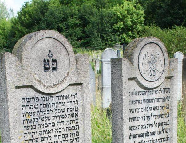 Zsidó temető Kárpátalján
