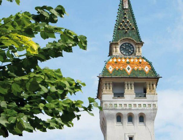 Marosvásárhelyi városháza tornya