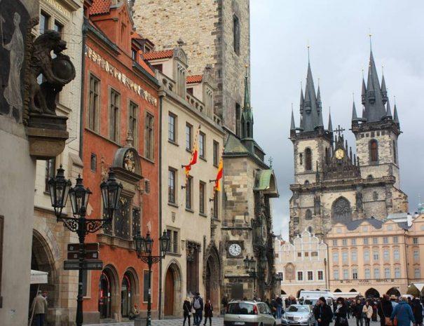 Prágai régi városháza