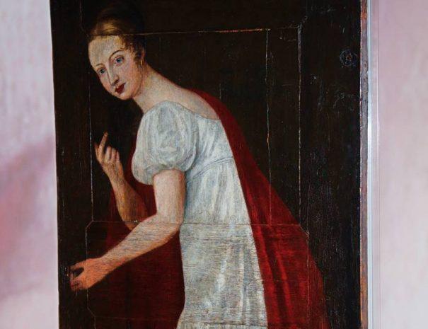 A lőcsei fehér asszony a régi lőcsei városháza épületében