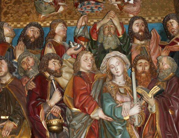 Mária halála-oltár, Szepeshely