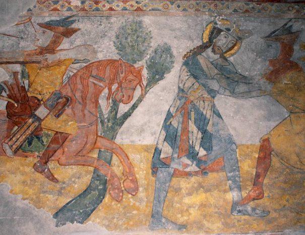 Szent László-legenda a kakaslomnici templomban