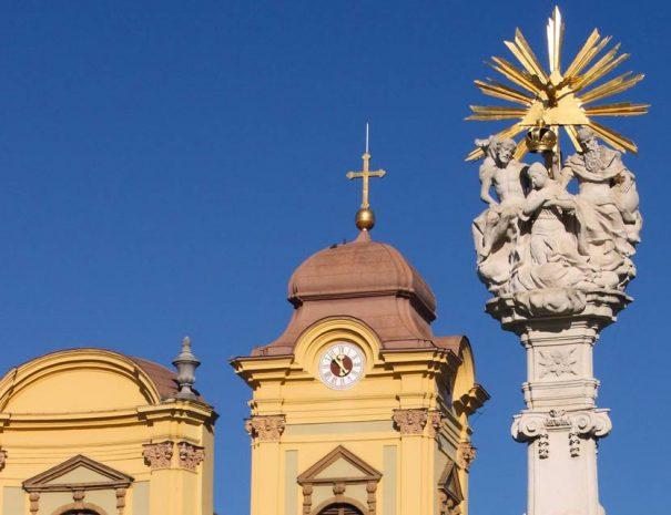 Szentháromság-oszlop, Temesvár