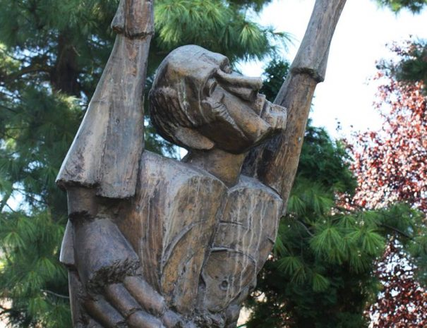 Célba vett ember szobra, Temesvár