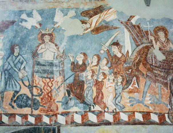 Szent Margit megkínzása, Bögöz